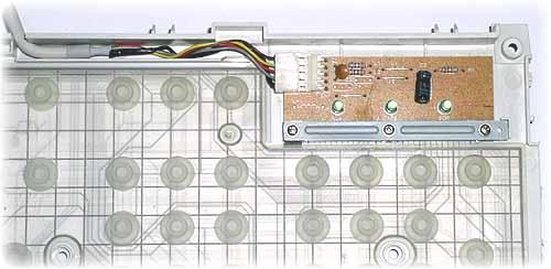 Контроллер клавиатуры и кабель