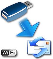 KeyGrabber Wi-Fi Premium - E-pošta poročanje