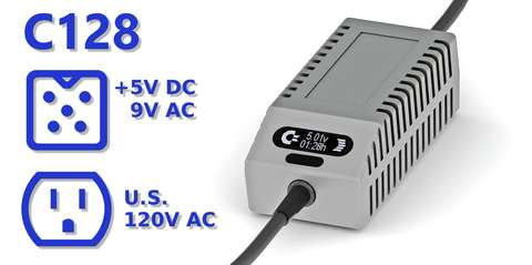 C128 PSU OLED Digital Gray US