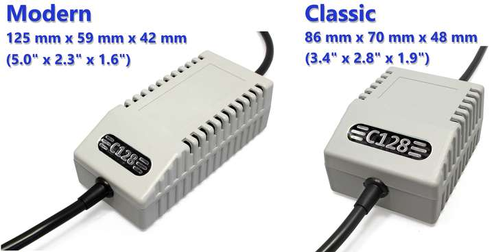 C128 PSU Classic Black UK