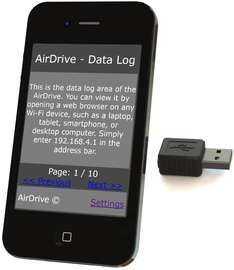 AirDrive Keylogger - Easy access