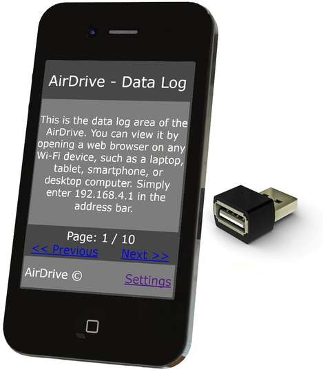 AirDrive Forensic Keylogger Pro - Easy access