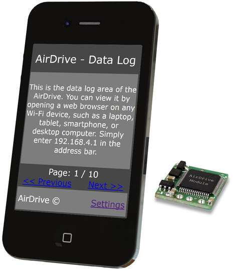 AirDrive Forensic Keylogger Module Pro - Easy access
