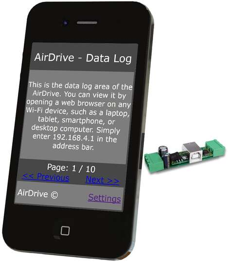 AirDrive Serial Logger Module Max - Easy access