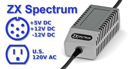 ZX Spectrum PSU Modern Gray US