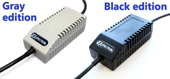 ZX Spectrum PSU Modern Black EU